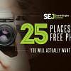 25 Places to Find Free Images Online That You Will Actually Want to Use