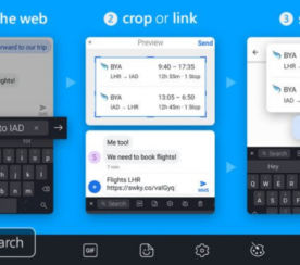 Bing Search Comes to SwiftKey for Android